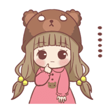Centilia's Little Cousin : Chocony sticker #12415182