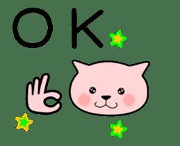 animation sticker of cat 1608B sticker #12417886