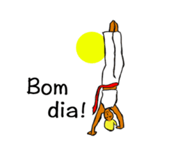 Capoeira Stickers move sticker #12431814