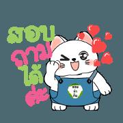 สติ๊กเกอร์ไลน์ PR Cat