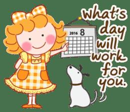 Cute Girl 3 by Masayumi (English Ver.) sticker #12438113