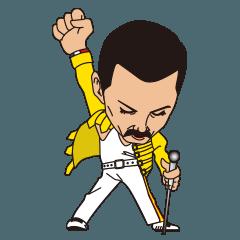 Queen Official Sticker