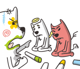 Kameke & Saito 3 sticker #12443928
