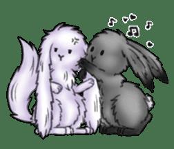 Yo ! rabbit B. sticker #12450826