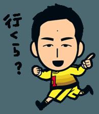 Jubilo IWATA players Sticker The 3rd sticker #12455558