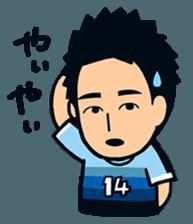 Jubilo IWATA players Sticker The 3rd sticker #12455568