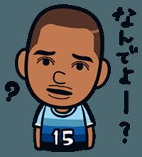 Jubilo IWATA players Sticker The 3rd sticker #12455569