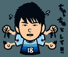Jubilo IWATA players Sticker The 3rd sticker #12455572