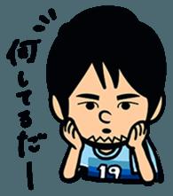 Jubilo IWATA players Sticker The 3rd sticker #12455573