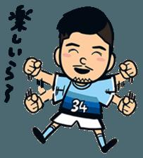 Jubilo IWATA players Sticker The 3rd sticker #12455586