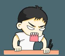 Gamsai evil-minded + sticker #12455955
