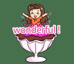 Nun : Greeting Happy Birthday to You. sticker #12458643