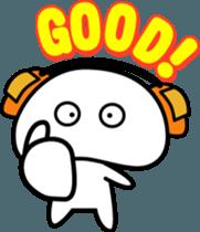 Yurukawa Pooh field-kun! sticker #12459334