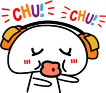 Yurukawa Pooh field-kun! sticker #12459342
