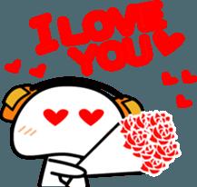 Yurukawa Pooh field-kun! sticker #12459343