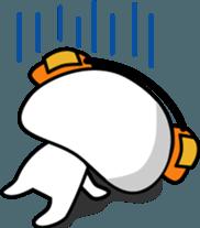 Yurukawa Pooh field-kun! sticker #12459344