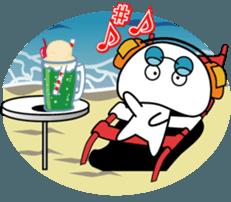 Yurukawa Pooh field-kun! sticker #12459345