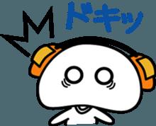 Yurukawa Pooh field-kun! sticker #12459348
