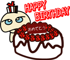 Yurukawa Pooh field-kun! sticker #12459350