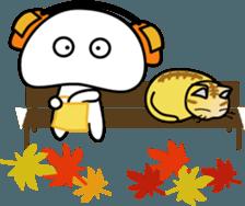 Yurukawa Pooh field-kun! sticker #12459353