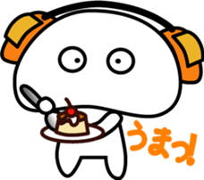 Yurukawa Pooh field-kun! sticker #12459355