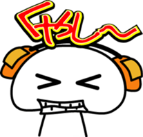 Yurukawa Pooh field-kun! sticker #12459359
