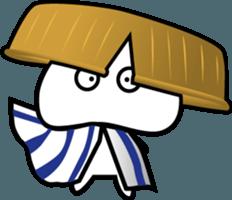 Yurukawa Pooh field-kun! sticker #12459368