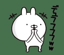 P Rabbit sticker #12461626
