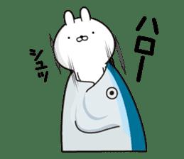 P Rabbit sticker #12461643