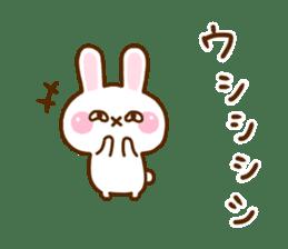 Rabbit Strawberry 11 sticker #12465705