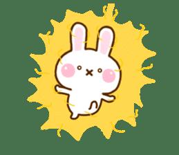 Rabbit Strawberry 11 sticker #12465717