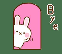 Rabbit Strawberry 11 sticker #12465720