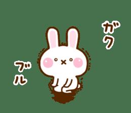 Rabbit Strawberry 11 sticker #12465723