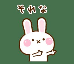 Rabbit Strawberry 11 sticker #12465734