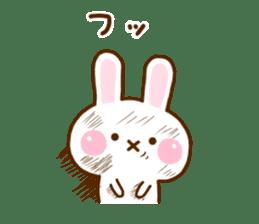 Rabbit Strawberry 11 sticker #12465738