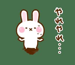 Rabbit Strawberry 11 sticker #12465740