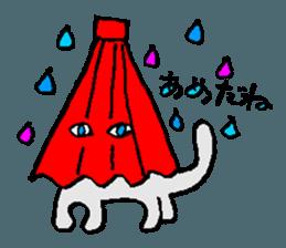 Daradara Cat sticker #12466790