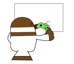 Vanilla Crocodile & friends sticker #12472088