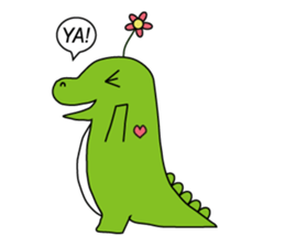 Vanilla Crocodile & friends sticker #12472118