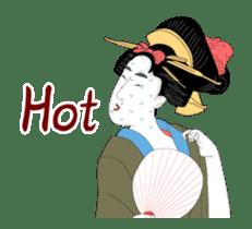 Moving Ukiyoe (Eng) sticker #12474623
