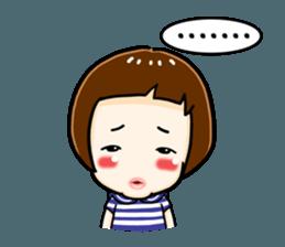mini baby talk(International) sticker #12475768
