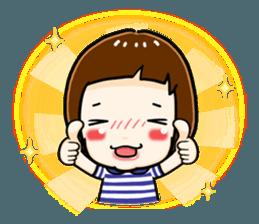 mini baby talk(International) sticker #12475773