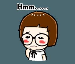 mini baby talk(International) sticker #12475774