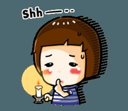 mini baby talk(International) sticker #12475775