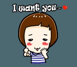 mini baby talk(International) sticker #12475777