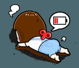 mini baby talk(International) sticker #12475779