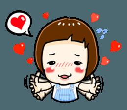 mini baby talk(International) sticker #12475780