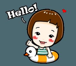 mini baby talk(International) sticker #12475782