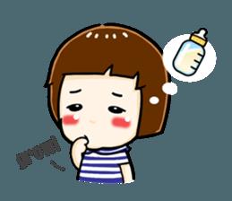 mini baby talk(International) sticker #12475783