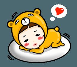 mini baby talk(International) sticker #12475784